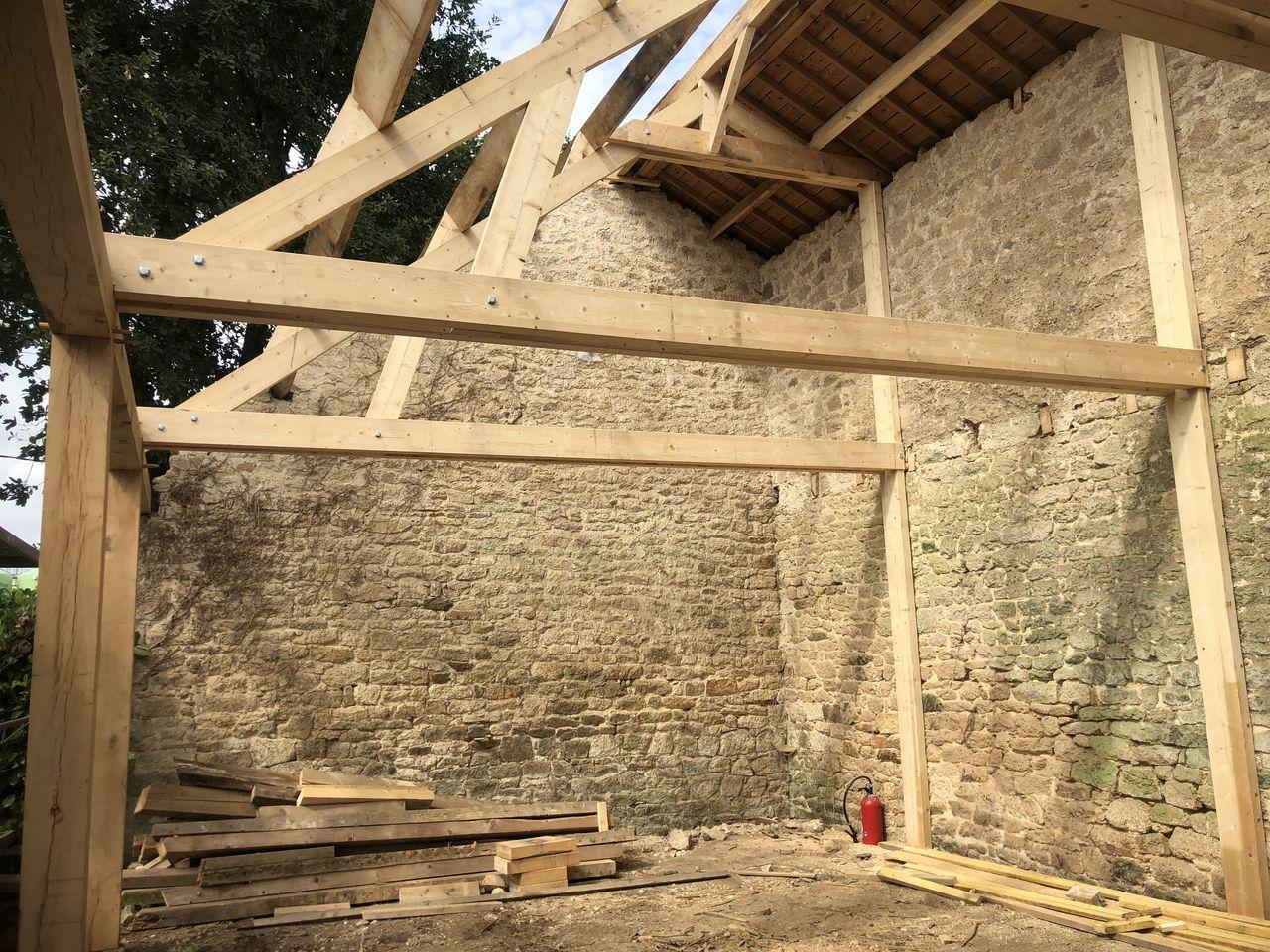Rénovation d'une maison habitation en centre Bretagne